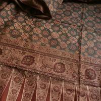 19世紀インドネシア向けインド更紗スバギ - 中村かをる創作帯屋