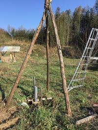 井戸掘り - 自然栽培 果樹カナン