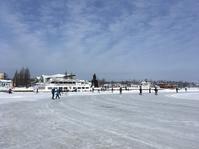 初スケート - フィンランドでも筆無精
