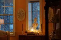 雪の日&サザンスタイルインテリア春号 - Michiko's Tea & Protocol-Southern Style Class「紅茶&プロトコールエチケット」「暮らしをデザインするアンティークのあるインテリア」実践Styleで学ぶ教室