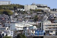 長崎の傾斜地 - 写真と文