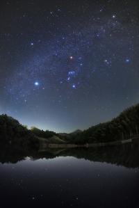 なごり雪のように星が降る水面 - Qualia
