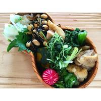 焼き大根と鶏肉の煮物BENTO - Feeling Cuisine.com