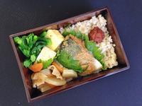 3/15鯖の味噌煮弁当 - ひとりぼっちランチ