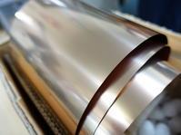 リン青銅0.1ミリのレーザー切断 - ステンレスクリーンカットのレーザーテック