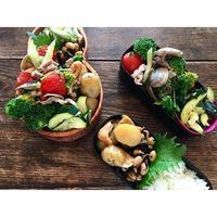 アサリと豚の炒め物BENTO - Feeling Cuisine.com
