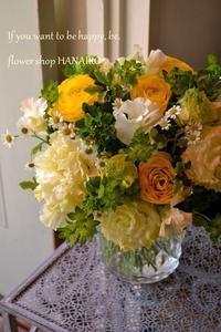 このマーガレットは綺麗やな~まるで君のようや。 - 花色~あなたの好きなお花屋さんになりたい~