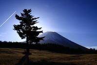 30年3月の富士(6)富士ヶ嶺の富士 - 富士への散歩道 ~撮影記~
