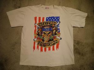 """1990's """"Guns N' Roses"""" 半袖T - BAYSON BLOG"""