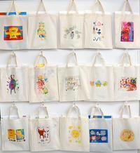児童画クラストートバッグを作ろう! - 大阪の絵画教室|アトリエTODAY
