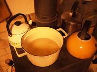 薪ストーブでメイプルシロップの巻。 - オーブン付き薪ストーブ kintoku直火工房。