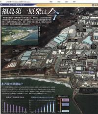 福島第一原発は今見開き大図解/東京新聞 - 瀬戸の風