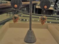 3月の誕生石・珊瑚のイヤリング - AntiqueJewellery GoodWill