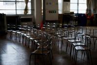 ★卒園児を待つ椅子達 - 一写入魂