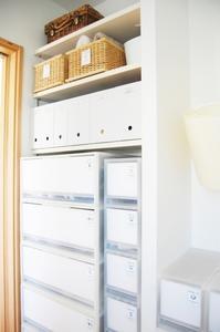 子どもの成長に伴った洗面所の収納の見直し♪ - 雑貨屋Angeの整理収納ブログ