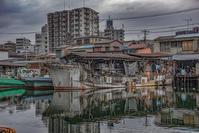 記憶の残像 2018年侘び錆びの風情-7神奈川県京浜運河 - ある日ある時 拡大版