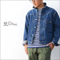 orslow [オアスロウ] PLEATED FRONT BLOUSE [03-6011-82] DENIM JACKET デニムジャケット・Gジャン・MEN'S - refalt   ...   kamp temps