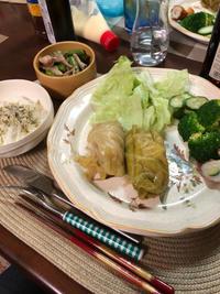 ロールキャベツ - 庶民のショボい食卓
