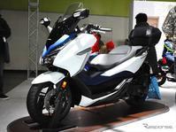 フォルツァ 新型 - バイクの横輪