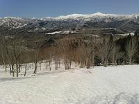 快晴のうろこ遊び…見当山 - 山にでかける日