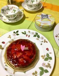 ティータイム - coco diary 山口県 お花と絵と楽しいティータイム