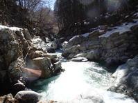 春の男鹿川 - よこのりずむ。