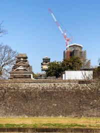 □熊本城は頑張っています - 心地よい暮らし Vie confortable
