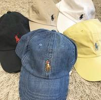 ラルフキャップ 🏇 - 「NoT kyomachi」はレディース専門のアメリカ古着の店です。アメリカで直接買い付けたvintage 古着やレギュラー古着、Antique、コーディネート等を紹介していきます。