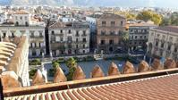 パレルモ大聖堂屋上テラスより - シチリア島の旅ノート