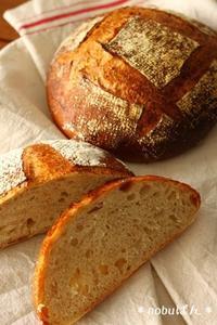 来月のパン *カンパーニュ* 試作しております☆ - nobuぱん