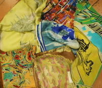 French vintage scarf - carboots