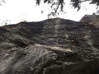 御前岩 「パチンコゲーム(8b+)」完登 (3月19日) - ちゃおべん丸の徒然登攀日記