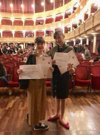 イタリアバーリ国際コンクールにてRCBA生 受賞! - 魔女はやんちゃなバレリーナ