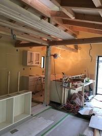 地下1地上2木造住宅完成間近! - 風と光と