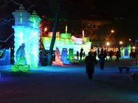 ハルピン氷祭りの続き - 中国探検想い出日記