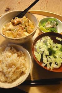 麻婆豆腐 - 週末は晴れても、雨でも