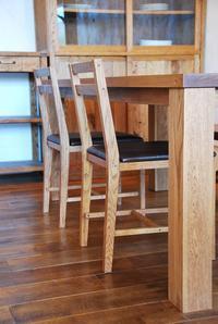 チェア製作進行中 - hiro furniture
