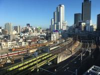 絶景トレインビュー✨ストリングスホテル名古屋。 - 子どもと暮らしと鉄道と