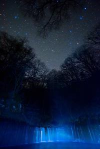 軽井沢白糸の滝の夜 - 四季星彩