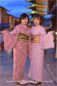着物で京都♯10 - あ お そ ら 写 真 社