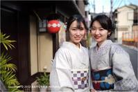 着物で京都♯11 - あ お そ ら 写 真 社