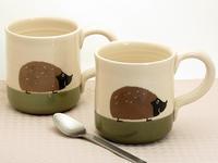 春、動きだすかわいいハリネズミのマグカップ - ブルーベルの森-ブログ-英国のハンドメイド陶器と雑貨の通販