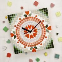 春のワークショップ・モザイク創作時計 - マルモザイコ