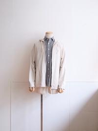 R I N E N  |  80/2綾織 フ―デッドブルゾン - Humming room