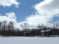 今週末の天気と気温(3月4週目):積雪13cmほど - 北軽井沢スウィートグラス