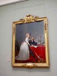 メトロポリタン美術館の一枚 NO2 有名な化学者と妻の美しい肖像画 Antoine Laurent Lavoisier and His Wife - NYからこんにちは