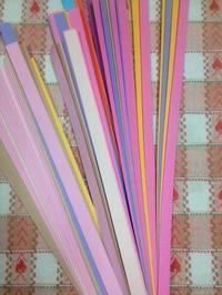 ☆紙で編む栞が大人気☆ - ガジャのねーさんの  空をみあげて☆ Hazle cucu ☆