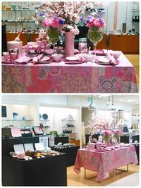 門出を祝う桜の食卓(福岡岩田屋新館6階) - Table & Styling blog