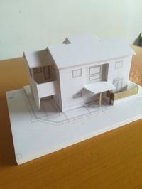 模型きたー! - きの家を建てる