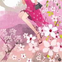 SAKURA PINK!展/中目黒MDP GALLERY - 女性誌、web、広告 |美しい女性と花と食のイラストレーション|まゆみん
